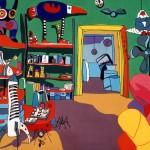 Elisabeth Bronitz peintures gravures