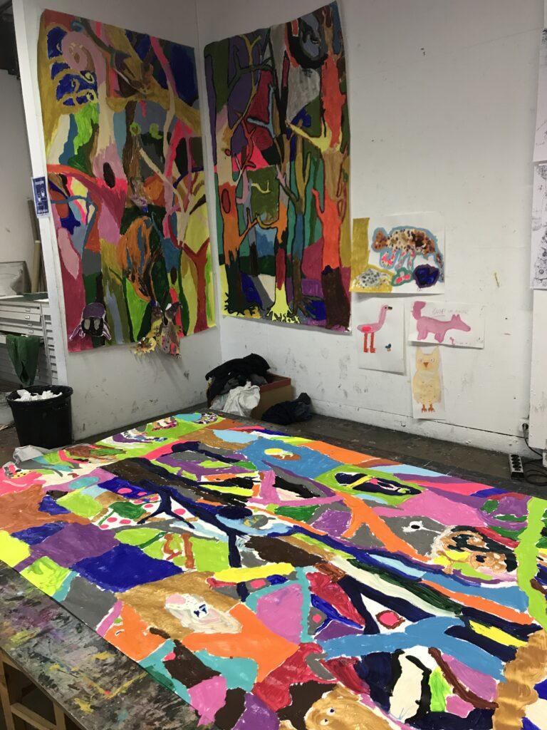 Peinture acrylique Enfants